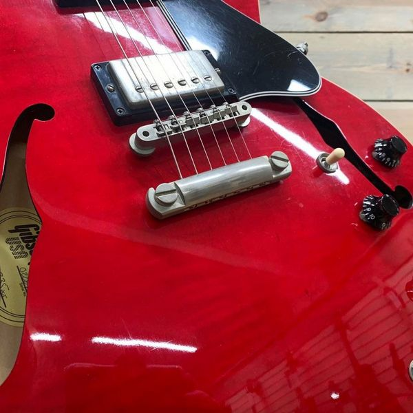 Gibson ES-335 2001 Flamed Maple Cherry (Pre-Owned with Hard Case)